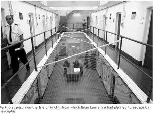 英国67岁死囚策划越狱 花数月绘制地图(组图)