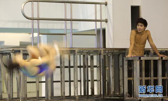 (伦敦奥运会)(5)跳水——国家队举行公开训练课